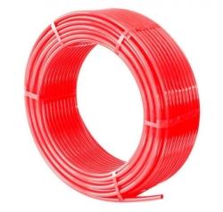 Труба cшит. п/э TIM PE-Xb, диаметр Ø16*2.0(100м) красный