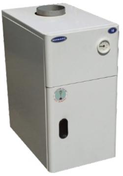 Газовый напольный котел Мимакс КСГВ-12,5 с отечественной автоматикой АГУ-Т-М (двухконтурный)