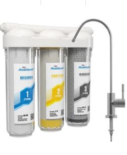 Система очистки питьевой воды АКВАБРАЙТ Модель АБФ-ТРИА - УМЯГЧЕНИЕ