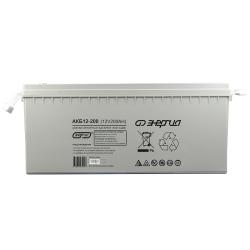 Аккумулятор АКБ 12-200 Энергия