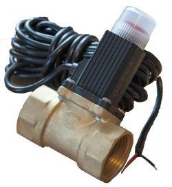 Клапан эл.магнитный газовый ду-15