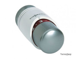 Термостатическая головка TRV4 хром./бел.