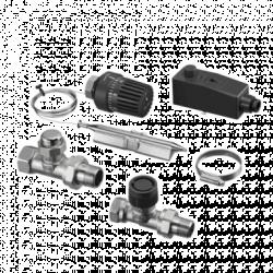 Набор №1 для регулирования панельного отопления OVENTROP Cofloor, для площади до 85 м2