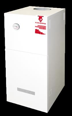 Газовый напольный котел Конорд КСц-ГВ-20Н с термогидравлической автоматикой САБК (двухконтурный)