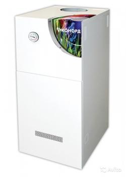Газовый напольный котел Конорд КСц-ГВ с автоматикой Sit (двухконтурный)