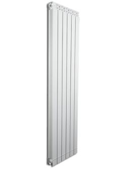 Дизайнерские алюминиевые радиаторы Fondital GARDA DUAL 80 ALETERNUM  1400 (4 сек)