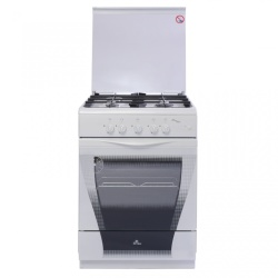 Газовая плита De Luxe 606040.04 г., кр., чр