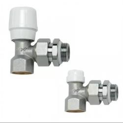 Комплект угловой RBM Ду-15 (регул. клапан +настр. клапан)