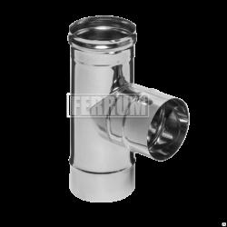 Тройник-Д Ferrum 90° (430/0,5 мм) Ø 140