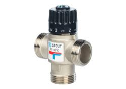 Термостатический смесительный клапан STOUT