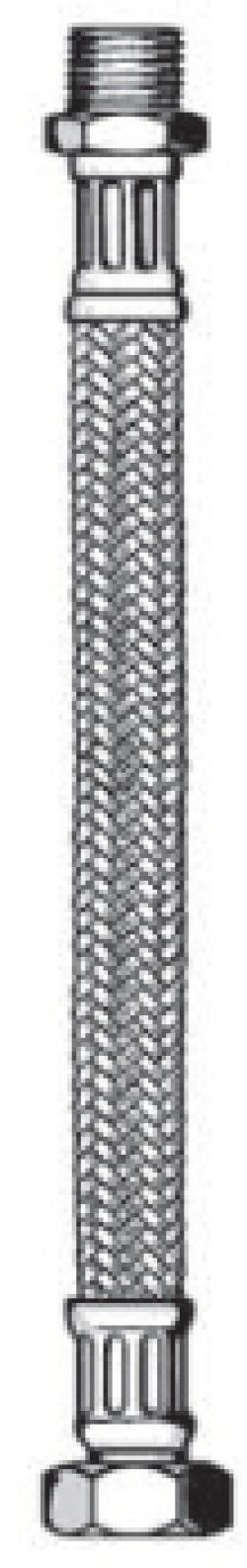 """Гибкие подводки 1/2"""" в металлической оплетке для питьевого водоснабжения, отопления и климатехники"""