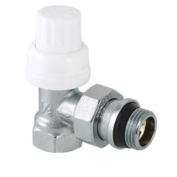 """Клапан термостатический VALTEC угловой 1/2"""" с дополнительным уплотнением"""