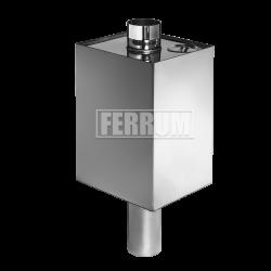 Бак прямоугольный Ferrum на трубе