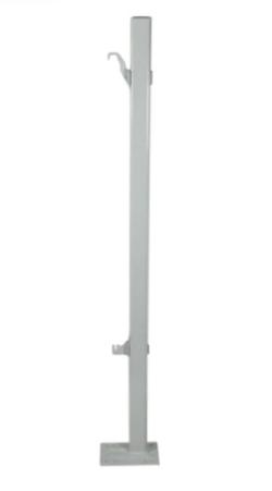 Кронштейн напольный тип KН49.70 (500/120 тип 20/21/22/33 без крепежа  к полу)